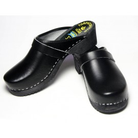 "UNISEX SWEDISH BLACK CLOGS ""GENUINE"""