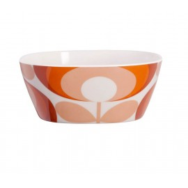 MELAMINE BOWL 70 FLOWER RED ORLA KIELY