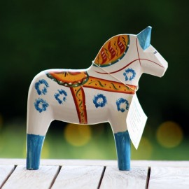 DALARNA ANTIQUE INSPIRED HORSE 17 CM
