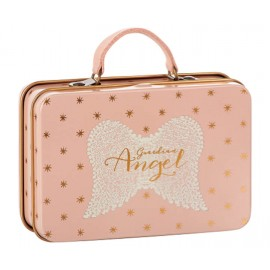 MOUSE OR MICRO RABBITS ROSE GOLD SUITCASE MAILEG