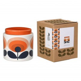JARRE STOCKAGE 1L 70S FLOWER ORANGE ORLA KIELY