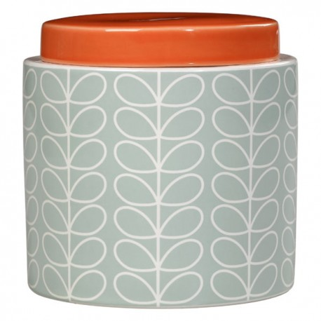 STORAGE JAR 1L LINEAR STEM BLUE ORLA KIELY