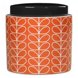 JARRE STOCKAGE 1L LINEAR STEM ORANGE ORLA KIELY