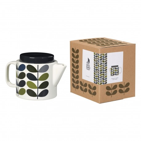 TEA POT MULTI STEM KHAKI MARINE ORLA KIELY