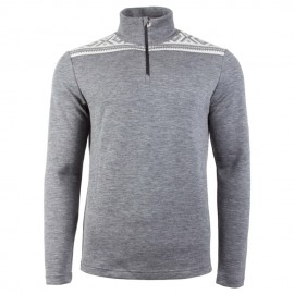 BASIC MASCULINE HALF ZIP SWEATER DALE OF NORWAY