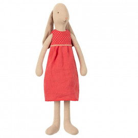 MEDIUM BUNNY RED DRESS MAILEG