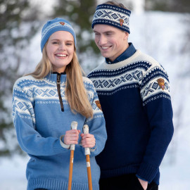 CORTINA HALF ZIP UNISEX SWEATER DALE OF NORWAY