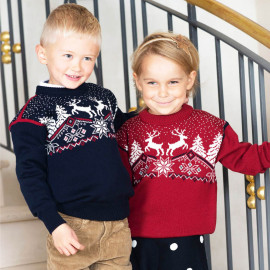 PULL DE NOEL UNISEXE ENFANT DALE OF NORWAY