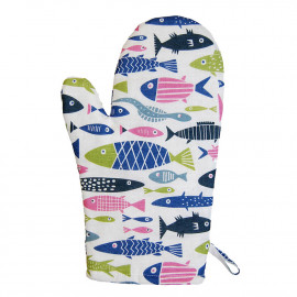 OVEN GLOVE FISH KLIPPAN BENGT AND LOTTA