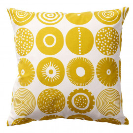 HOUSSE DE COUSSIN CANDY JAUNE KLIPPAN BENGT AND LOTTA