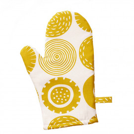OVEN GLOVE CANDY YELLOW KLIPPAN BENGT AND LOTTA