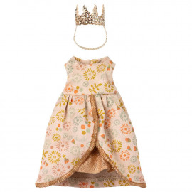 QUEEN CLOTHES SET FOR MOUSE MAILEG