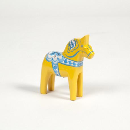 DALARNA YELLOW SWEDEN SERIE HORSE 5 CM