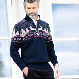 PROMO -30% PULL DE NOEL HOMME DALE OF NORWAY