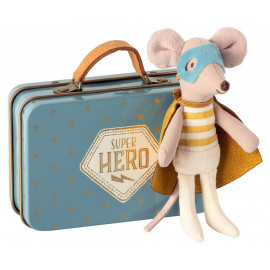 MOUSE GUARDIAN HERO IN SUITCASE MAILEG