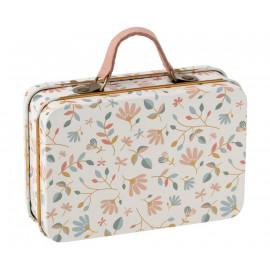 MOUSE OR MICRO RABBITS FLOWERS PRINT SUITCASE MAILEG