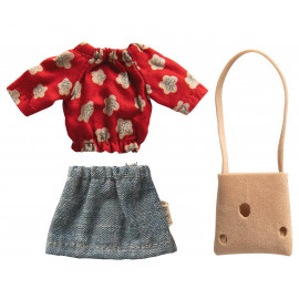 MUM CLOTHES SET FOR MOUSE MAILEG