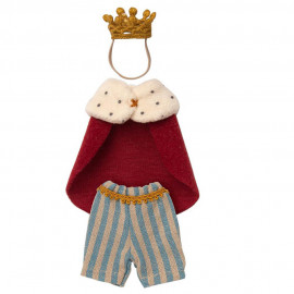 KING CLOTHES SET FOR MOUSE MAILEG