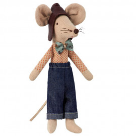 RACER DAD MOUSE MAILEG