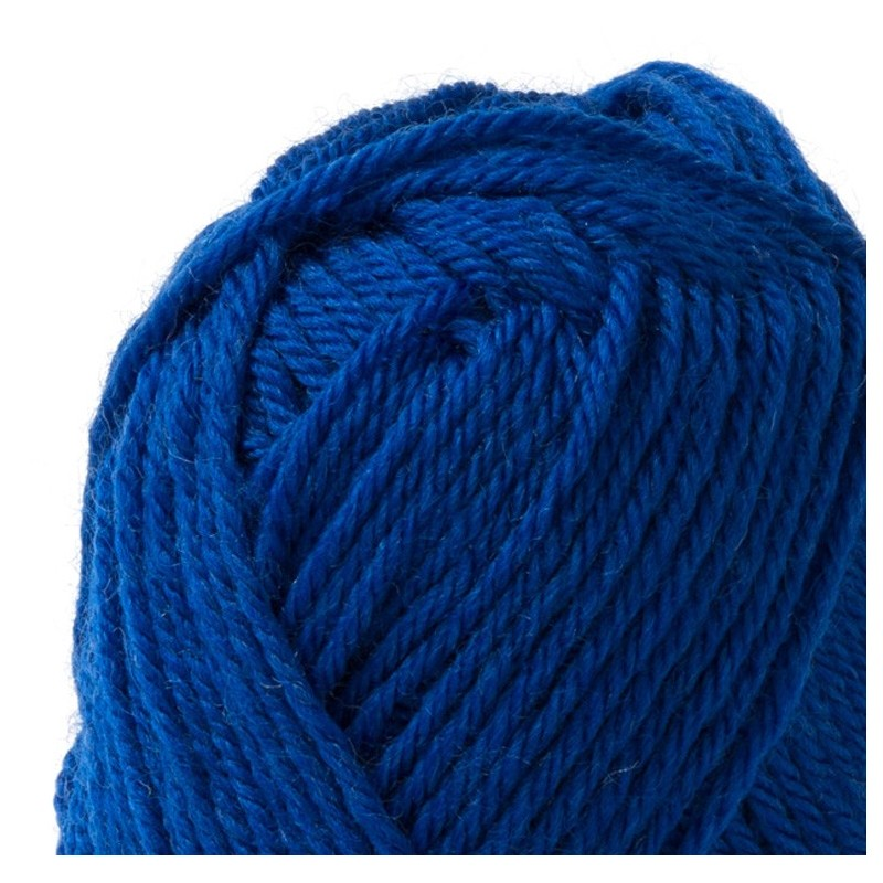 """Washable Rugs Denby Dale: PURE NEW WOOL """"ELECTRIC-BLUE"""" DALE OF NORWAY"""