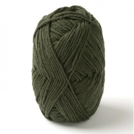 "PURE NEW WOOL ""KAKI-GREEN"" DALE OF NORWAY"