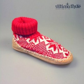 "MOUNTAIN-SLIPPERS ""RED"" SIZE 20 TO 45"