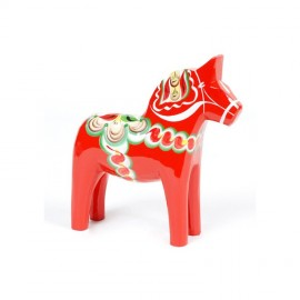 DALARNA RED HORSE 10 CM