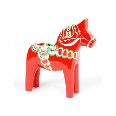DALARNA RED HORSE 13 CM