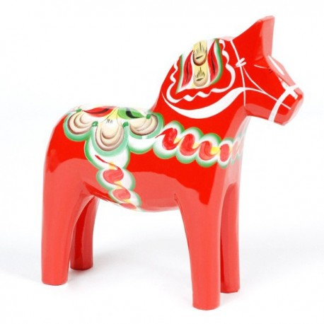 DALARNA RED HORSE 17 CM